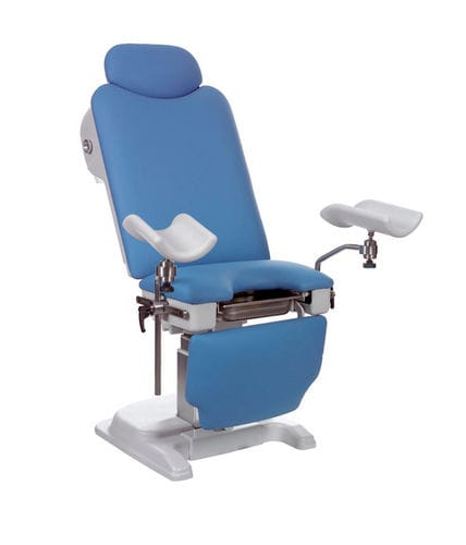 gynecological examination chair / urological / electric / foot-operated