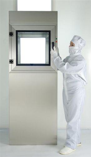 clean room transfer hatch / decontamination