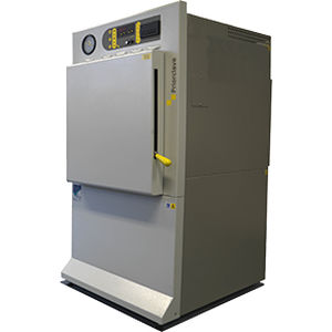 laboratory autoclave / hot air / front-loading / automatic