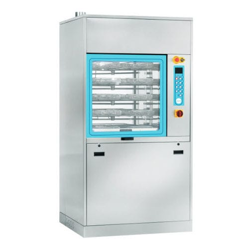 reprocessing washer-disinfector / dental / floor-standing / compact
