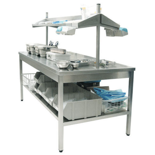work table / medical instruments packing / stainless steel