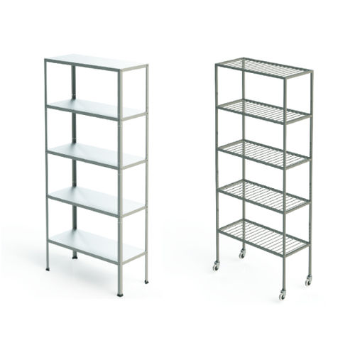 storage rack / stainless steel / shelf