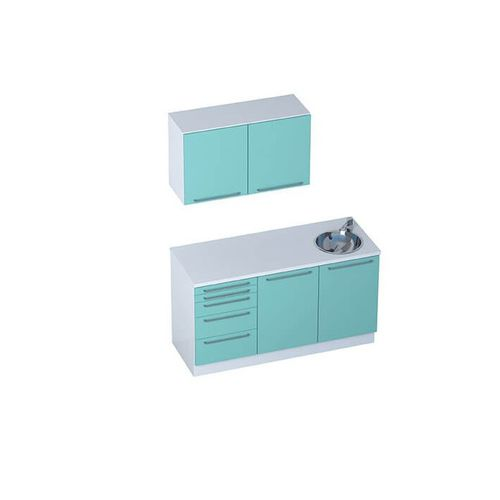 doctor's office cabinet