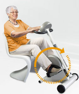 leg pedal exerciser / seated