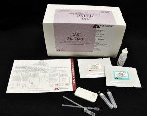 rapid flu test