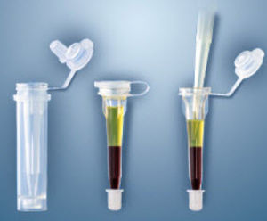 conical collection tube / capillary blood / polypropylene / with coagulation activator