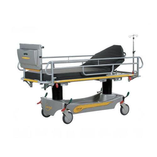 transport stretcher trolley / manual / with adjustable backrest / Trendelenburg
