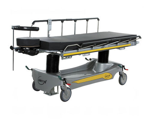 transport stretcher trolley / emergency / electric / hydro-pneumatic