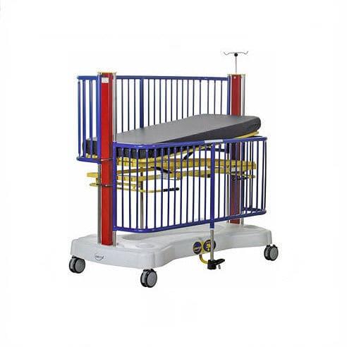 pediatric bed / intensive care / medical / pneumatic