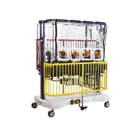 transport stretcher trolley / manual / pediatric / insulation