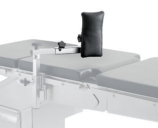 backrest / lateral support / for operating tables