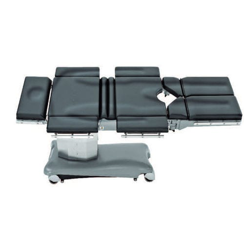 universal operating table / electric / on casters / X-ray transparent