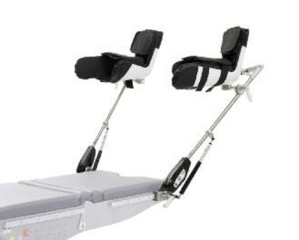 leg support / for operating tables / adjustable