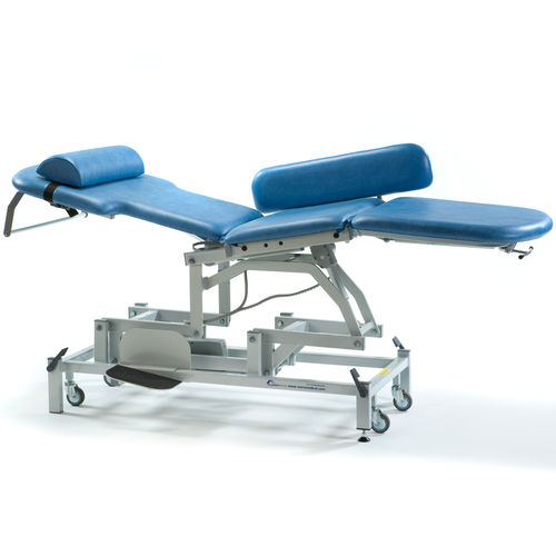 echocardiography examination couch