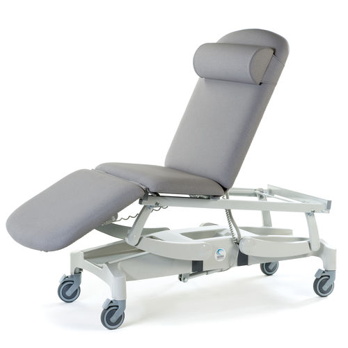 general examination couch / for ultrasound imaging / minor surgery / rehabilitation
