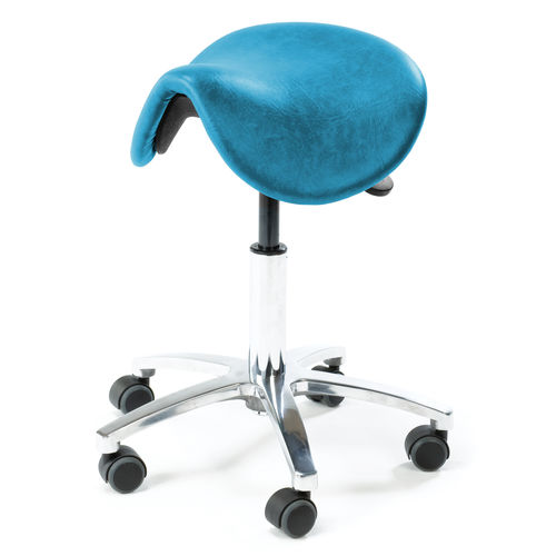 saddle seat stool / dental / doctor's office / operating room