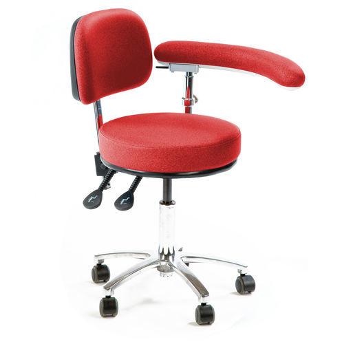 dental stool / for healthcare facilities / laboratory / for veterinary facilities