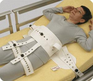 Hospital bed fixation strap - 2231 - SEGUFIX-Bandagen Das Humane System -  abdominal / thigh