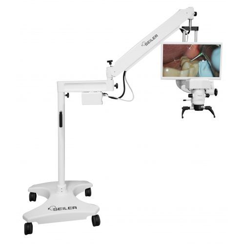 dental examination microscope / dental surgery microscope / wall-mounted / ceiling-mounted