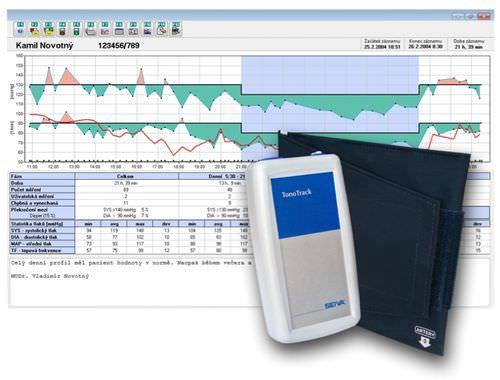 ABPM patient monitor / NIBP / ambulatory / handheld