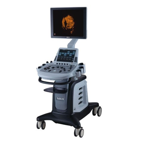 on-platform, compact ultrasound system / for multipurpose ultrasound imaging / B/W / color doppler