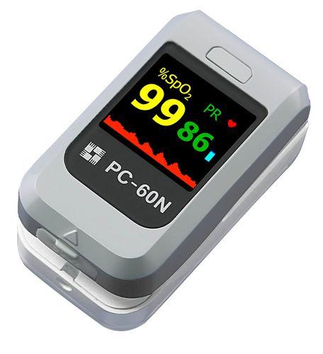 compact pulse oximeter / fingertip / pediatric