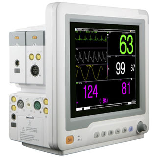 IBP patient monitor / CO2 / ECG / intensive care