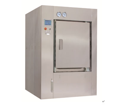 medical autoclave / compact / fractionated vacuum