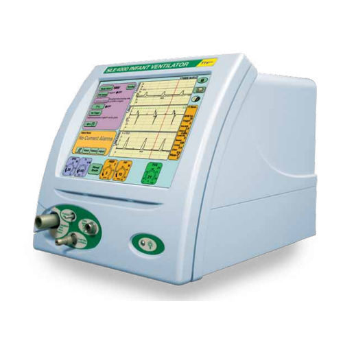 resuscitation ventilator / infant / CPAP / with touch screen