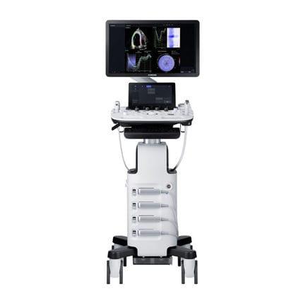 on-platform ultrasound system / for multipurpose ultrasound imaging / B/W / elastography