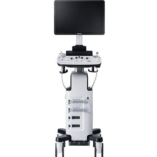 on-platform ultrasound system