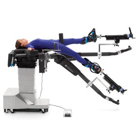 orthopedic operating table / electro-hydraulic / Trendelenburg / height-adjustable