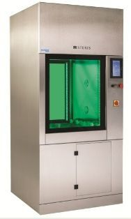 compact washer-disinfector / front-loading / with steam generator