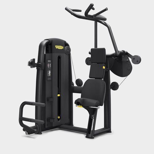 lat pulldown gym station