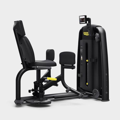 leg adduction gym station