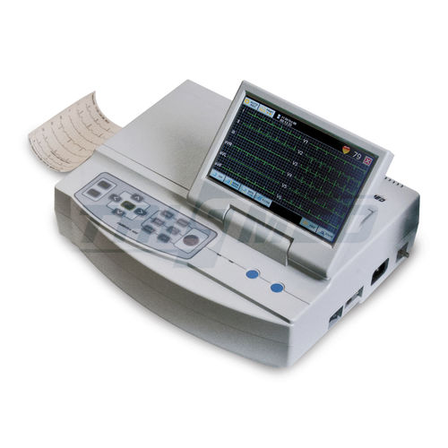 6-channel veterinary ECG system
