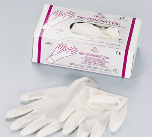 medical gloves / latex / vinyl / non-sterile