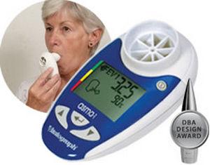 electronic peak flow meter