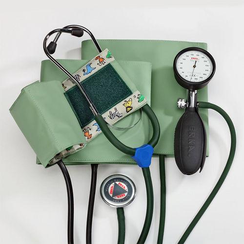 aneroid sphygmomanometer / with stethoscope
