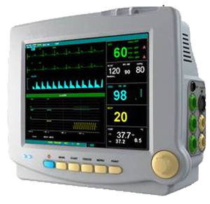 multi-parameter ECG monitor / TEMP / EtCO2 / SpO2
