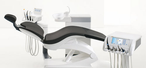 dental unit with monitor / with hygiene system