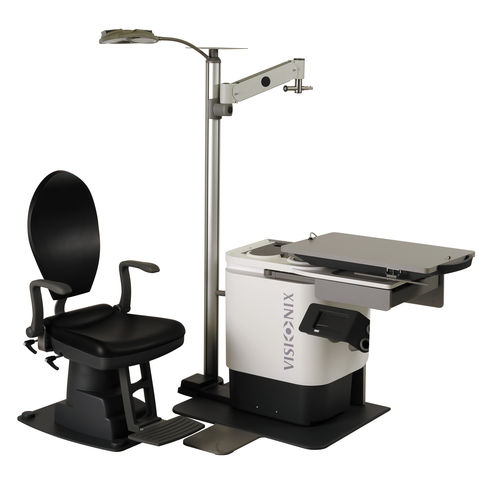 ophtalmic workstation / with chair / with light