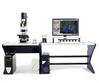 laboratory microscope / optical / confocal
