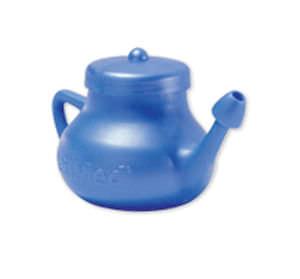 nasal cleaning pot / manual