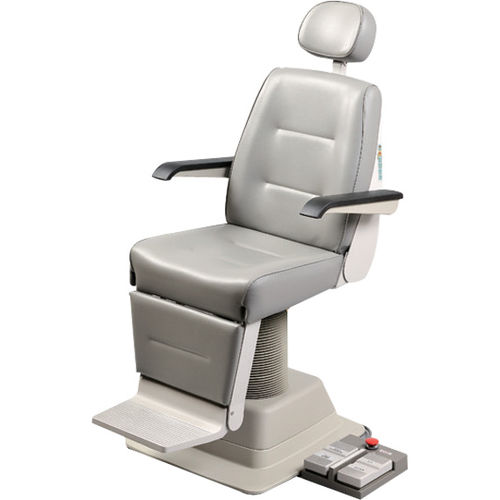 ophthalmic examination chair / electro-hydraulic / height-adjustable / reclining