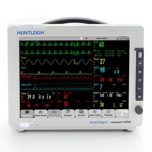 ECG patient monitor / EtCO2 / heart rate / NIBP
