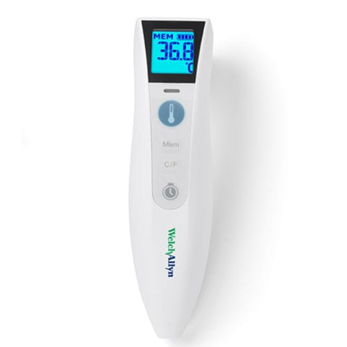 medical thermometer / infrared / forehead / wireless