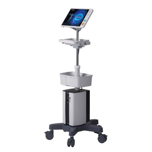 ECG patient monitor / NIBP / intensive care / trolley-mounted