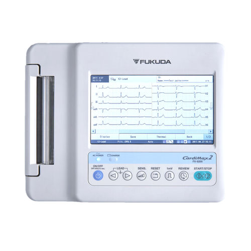 12-channel electrocardiograph / 6-channel / digital / with printer