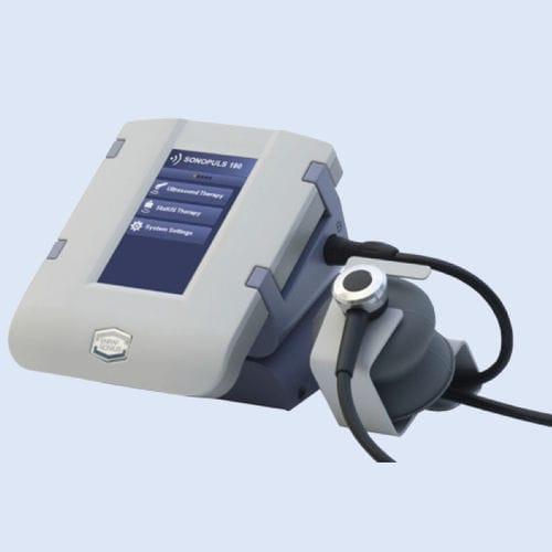 ultrasound diathermy unit / tabletop / 2-channel